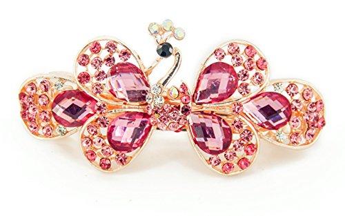 Yeshan Fashion Crystal Rhinestones Barrette