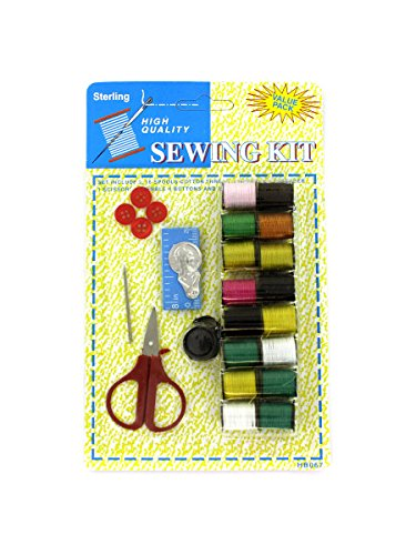 All-in-one sewing kit, Case of 96 by Sterling