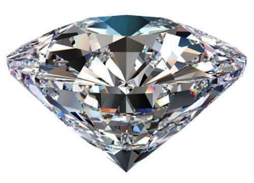Parineeta Gems 8.00 Carat Zircon American Diamond Loose Gemstone(White)