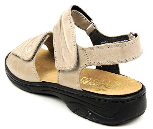 Rieker 64560-42 Damer Komfort Sandalette Beige (beige) qw5vQ9