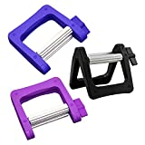 3pcs Toothpaste Squeezer/Tube Metal & Plastic Squeezer for Cooking, Baking, Hair Salon, Cosmetics, Paint Tube, Color Dye -Black Blue Purple
