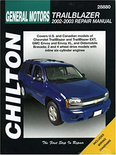 general motors trailblazer 2002 2003 chilton s total car care rh amazon com chevrolet trailblazer 2003 manual 2003 trailblazer service manual pdf