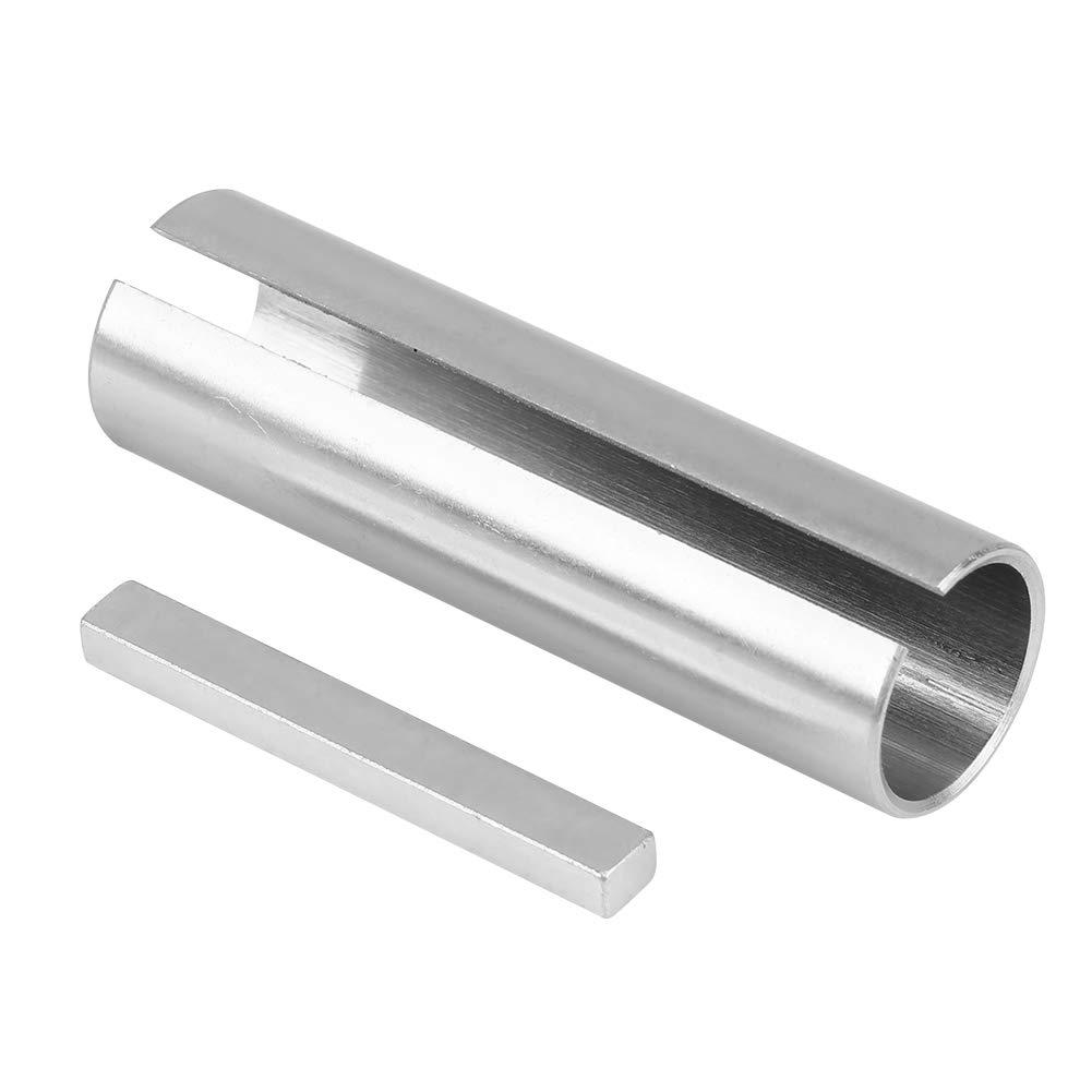 Aramox Crank Shaft Sleeve Adapter 3//4 to 7//8 Inch Shaft Adapter Pulley Bore Reducer Sleeve Bushing /& Keystock