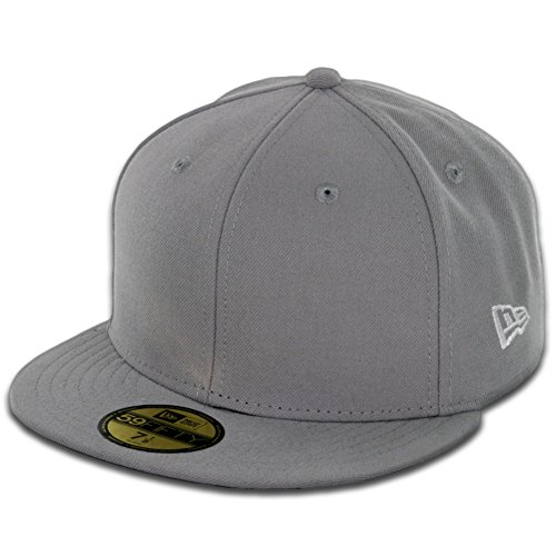 Basic Gray 59fifty Fitted Cap - 6