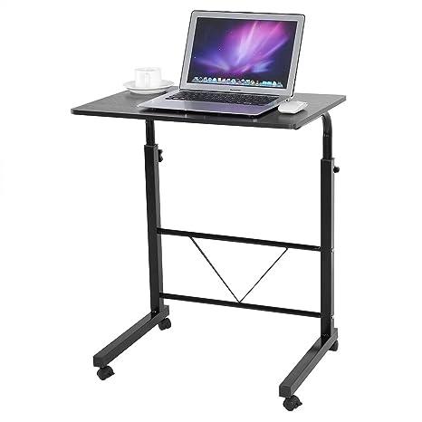Mesa ajustable para computadora portátil, escritorio para computadora Mesa para cabecera Mesa plegable para sofá