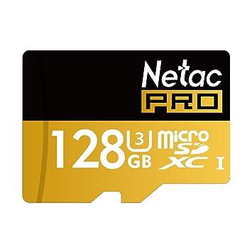 Tarjeta Netac P500 128 GB Micro SD U3 Pro SDXC Memoria flash ...