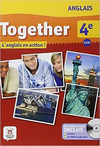 Lire Anglais 4e A2/B1 Together : L'anglais en action ! (1DVD) pdf