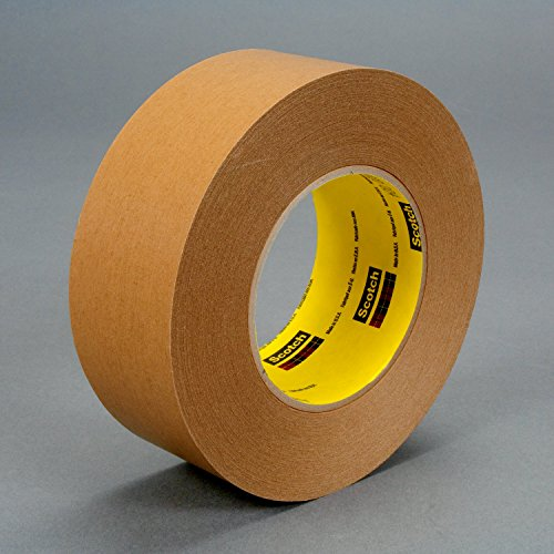 (3M 17599-case Repulpable Strong Single Coated Tape R3187, 48 mm x 55 m, Kraft (Pack of 24))