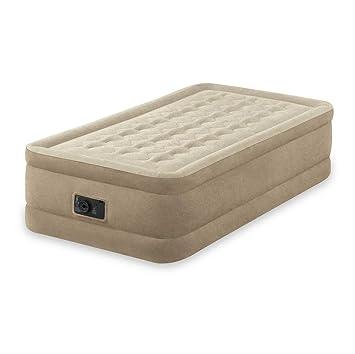 INTEX 64456 colchón Hinchable Beige - Colchones hinchables (Beige, Adultos, Felpa, Rectángulo, 99 cm, 191 cm): Amazon.es: Juguetes y juegos