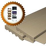 AOD Retail Weather Seal, Door weatherstrip also used as garage door seals, Garage Door Top and Side with 1 Lubricant (8 x 7, Almond) - Professional grade
