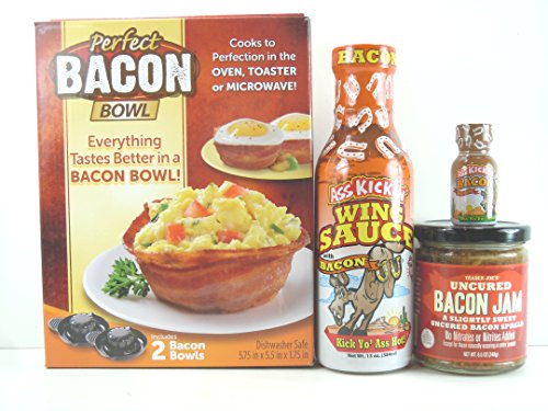 trader-joes-uncured-bacon-jamass-kickin-bacon-wing-sauceass-kickin-bacon-hot-sauceplus-as-seen-on-tv