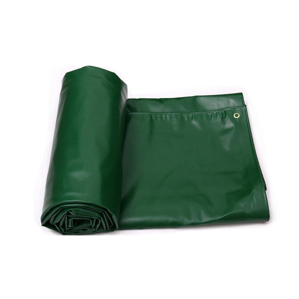 防水布サンシェードクロス屋外キャンバス厚手ターポリン B07FBCCTXC アーミーグリーン 4*3m