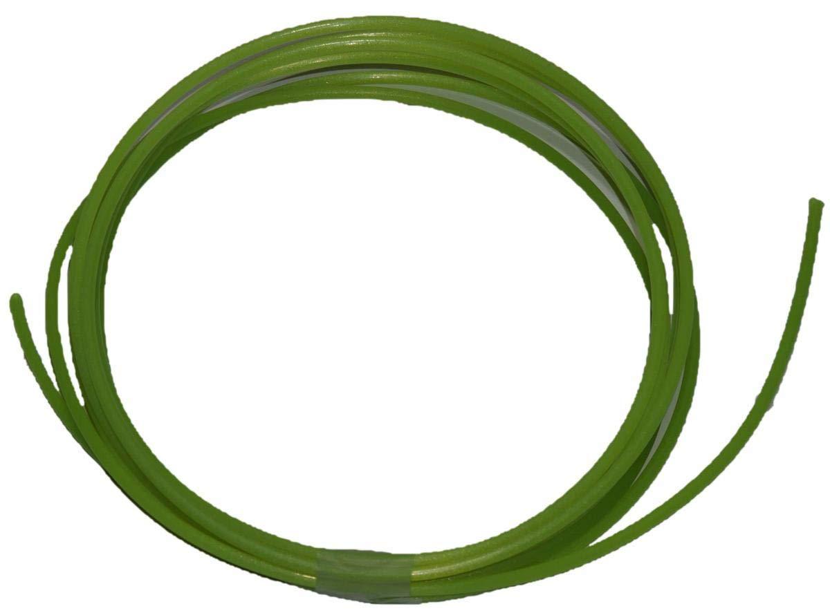 Sharkcut diverse lunghezze filo di nylon in alluminio 3 mm Filo per decespugliatore professionale rotondo