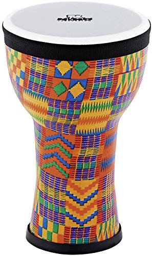 c7cb4600c8a9 Nino Percussion Kids' Djembe, 100% Synthetic Pre-Tuned, Compact Size - NOT  MADE IN CHINA - Kenyan Quilt Finish, for Classroom Music or Playing at ...