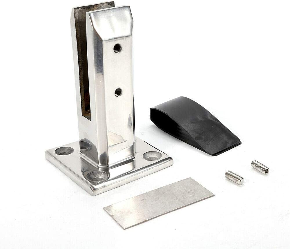 Stairs Stainless Steel Spigot Glass Balustrade Railing Balcony Glass Fence Clamp