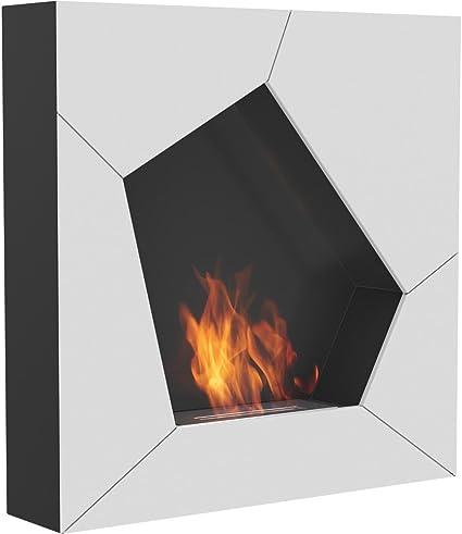 color negro BioCamino Chimenea de bioetanol Meru Tube