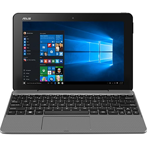 ASUS Transformer Book T101HA-C4-GR 10.1-Inch 2-in-1 Ultraportable Laptop with Intel Core X5 1.44 GHz 4GB 64GB HD Windows 10 Touchscreen,...