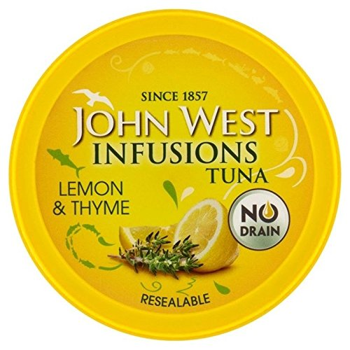 (John West Tuna Infusions With Lemon & Thyme 80g - Pack of 6)