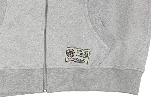 Veste zippée Kitaro gris clair
