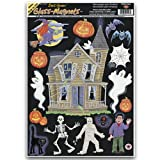Haunted House Clings Party Accessory (1 count) (15/Sh)