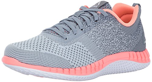 Reebok Baby RBK Print Run Prime Ultk Sneaker, Cloud Grey/Meteor Grey/So,5.5,Big Kids - Kid Wanted Boy Shoe