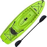 Lifetime Hydros Angler 85 Fishing Kayak (Paddle Included), Lime Green