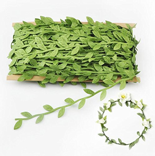 Acerich Artificial Vines, 132 Ft Fake Hanging Plants Silk Ivy ...