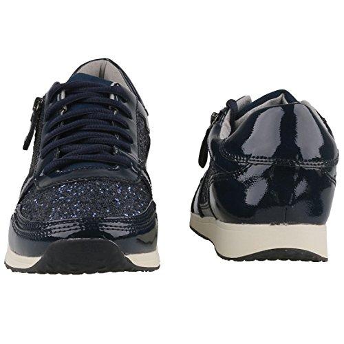 Tamaris Mujer Zapatillas Azul