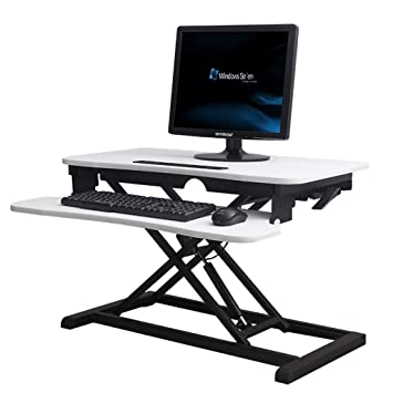 ZXvbyuff De pie Desk Stand Up Mesas de altura ajustable del ...