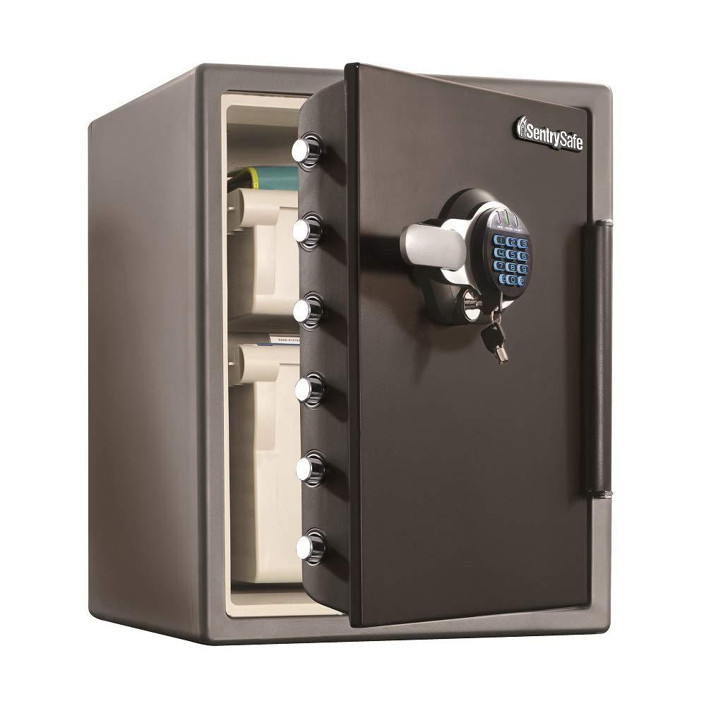 SentrySafe SFW205GQC Fireproof Safe and Waterproof Safe with Digital Keypad, 2.05 Cu. Ft., Black