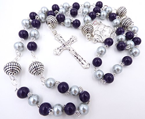 COLORADO PRO BASEBALL CATHOLIC ROSARY BEADS