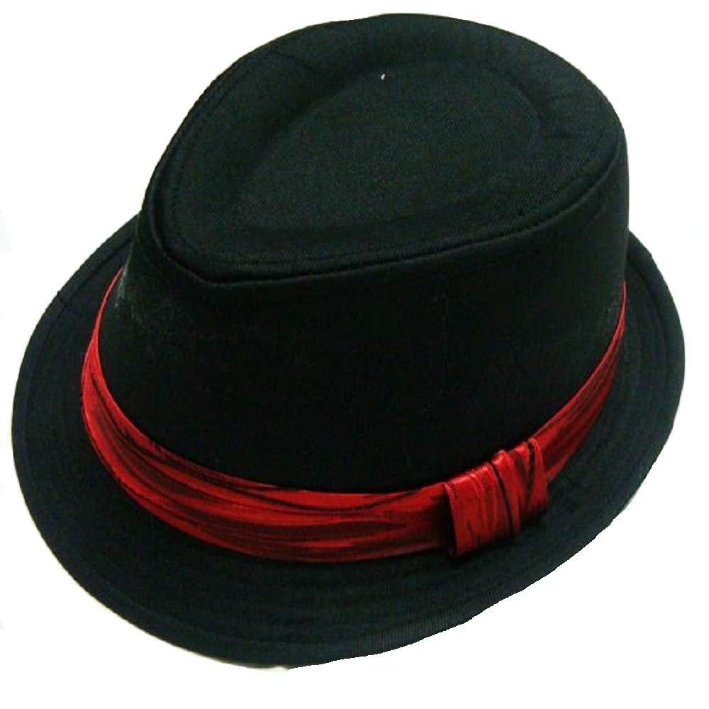 Hooyi Unisex Children Caps Trilby Boys Fedora Jazz Hat Sun Hats