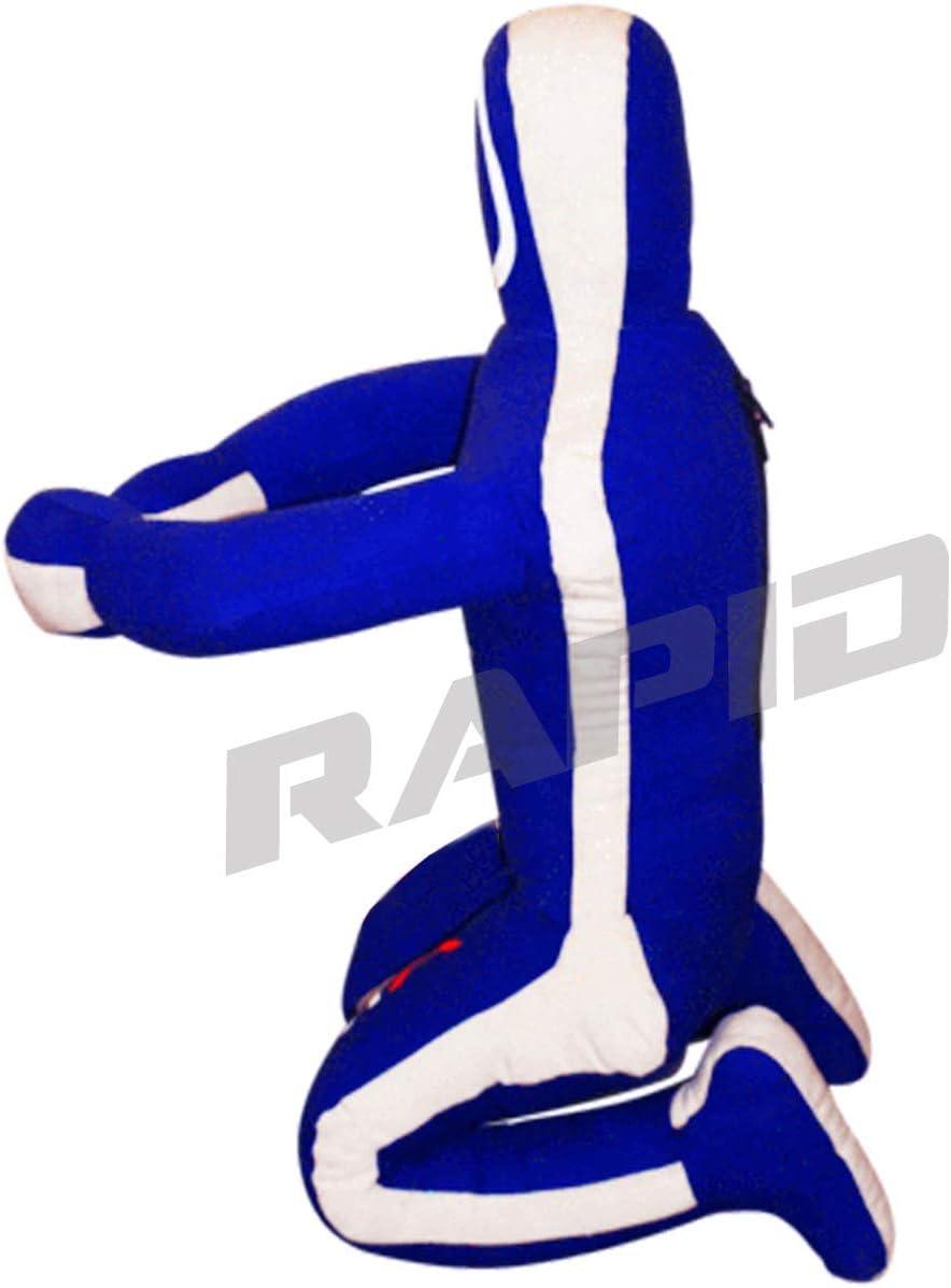 BJJ color azul Saco de boxeo brasile/ño para artes marciales mixtas de judo y artes marciales dise/ño de karate