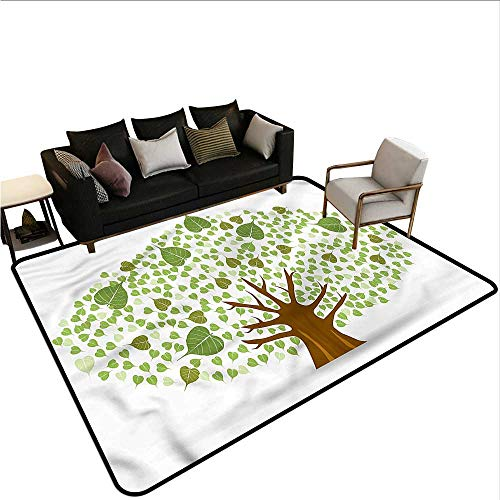 Bodhi Four Light - Tree,Dining Table Rugs 36