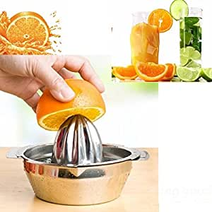 Saver Stainless Steel Fruit Lemon Kitchen Citrus Juicer Hand Press Squeezer Tool