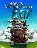 Howl's Moving Castle Coloring Book: ハウルの動く城 塗り絵, Hauru no Ugoku Shiro