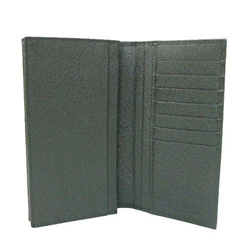 31769854a595 Amazon   BVLGARI(ブルガリ) 長財布 クラシコ CLASSICO 二つ折り メンズ グレインレザー 25752 ブラック  [並行輸入品]   BVLGARI(ブルガリ)   財布