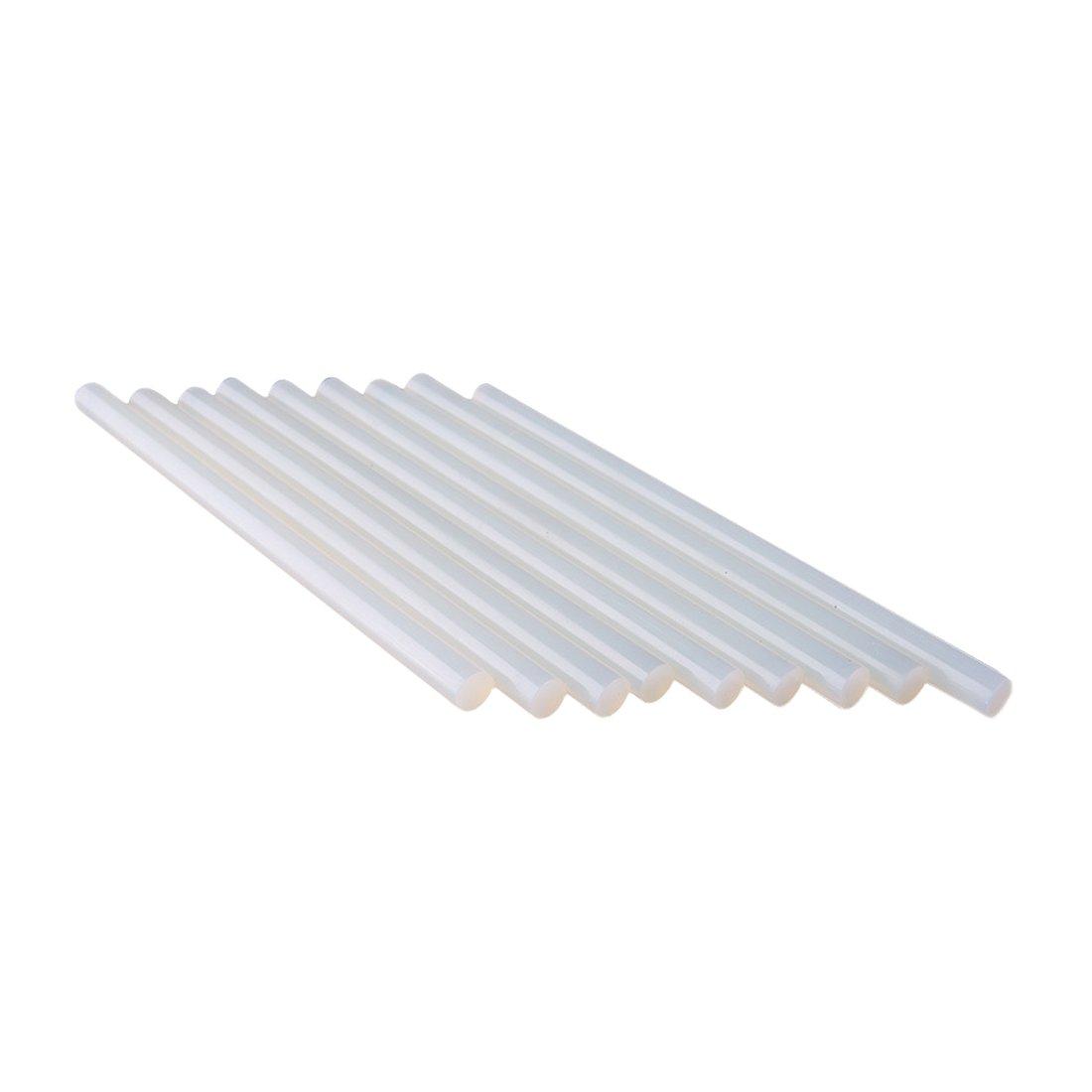 10 Pcs 11mm * 190mm Chaude Adhésif Blanc Melt Colle Bâtons Pour Électronique Artisanat Album DIY Outils De Réparation