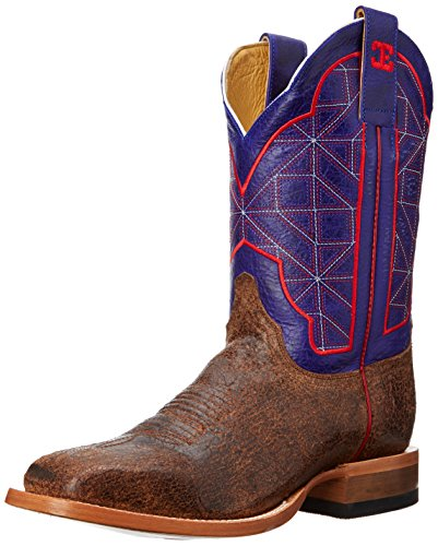 CINCH Men's Bristol Western Boot - Brown/Purple - 7.5 D(M...