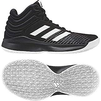 adidas Boys Kids Basketball Shoes Pro Spark 2018 Running Training AH2644 Black