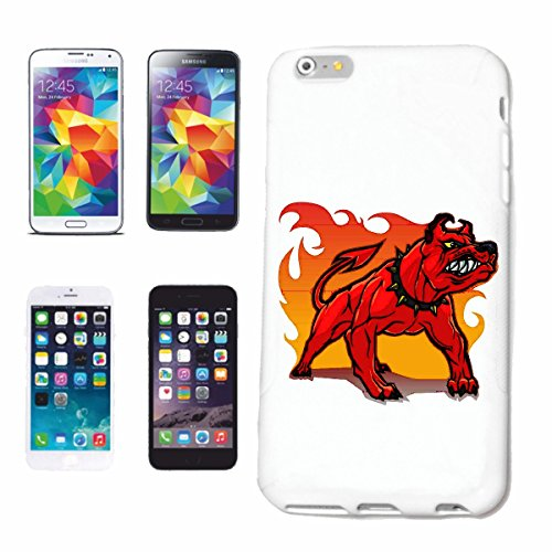 """cas de téléphone iPhone 7+ Plus """"CHIENS Bulldog REPRODUCTION MAISON CHIENS KENNEL ÉLEVEURS PUPPY FORMATION CARE"""" Hard Case Cover Téléphone Covers Smart Cover pour Apple iPhone en blanc"""