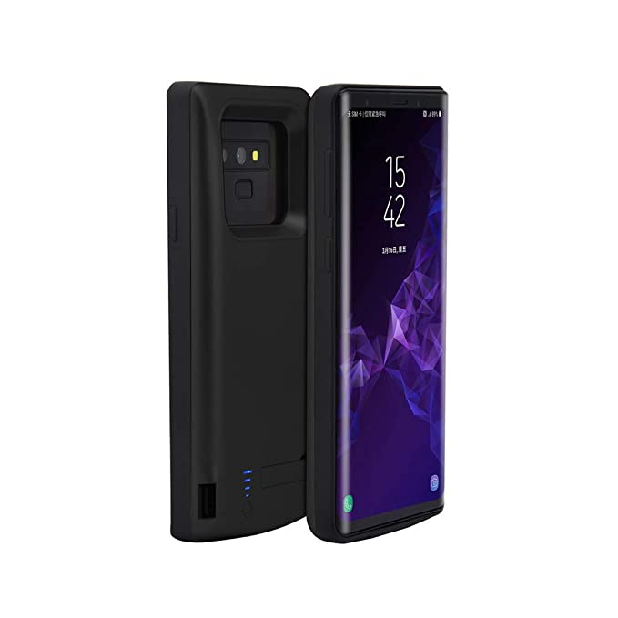 info for 7d6da d45fd Amazon.com: ANERNAI Galaxy Note 9 Battery Case, Hard 5000mAh ...