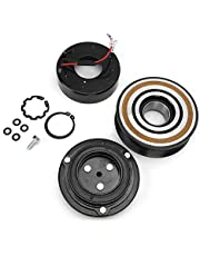 AC A/C Compressor Clutch Coil Assembly Kit, Iron Air Conditioning Compressor Clutch Assembly, Fit for Toyota Tacoma 2.7L 4.0L 05-16