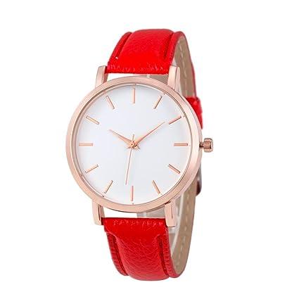 Cuarzo Mujer Reloj Relojes Inoxidable xinan Pu Acero Analógico Cuero Pulsera Xinantime OPN8n0wZXk