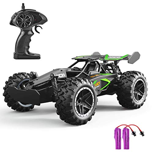 GotechoD Toys for 6-12 Year Old Boys Remote Control Car for Kids 2WD Off Road RC Car Fast Racing Car Radio Controlled Truck Vehicle Christmas Birthday Gifts for Boys Girls Black from GotechoD