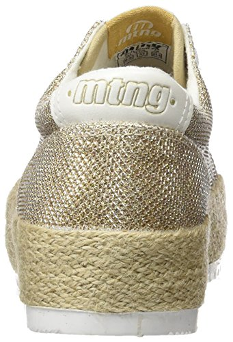 MTNG Evan, Zapatillas de Deporte Para Mujer Dorado (COSMO Oroaction Pu Blancocosmo Oro)