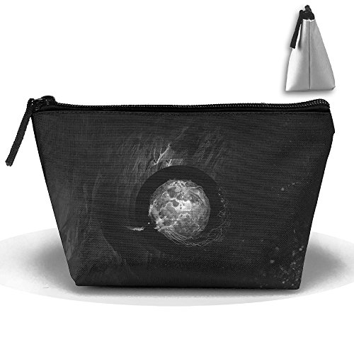 Travel Cosmetic Bags Cave Bird Ball Dark Small Makeup Bag Multifunction Pouch Cosmetic Handbag Toiletries Organizer Bag for Women Girl ()