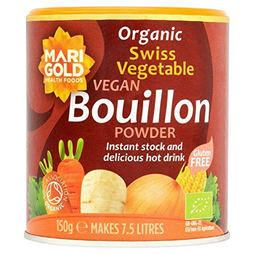 Swiss Stock - Marigold Organic Swiss Vegetable Vegan Bouillon Powder - 150g