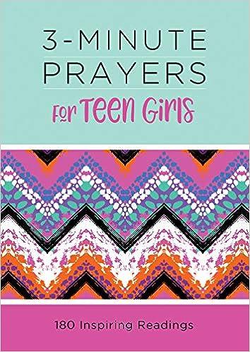 Amazon com: 3-Minute Prayers for Teen Girls (3-Minute