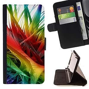 KingStore / Leather Etui en cuir / Apple Iphone 5C / Colores 2